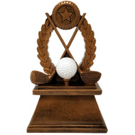 Gold Golf Trophy