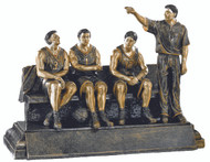Basketball TEAM BENCH Trophy | Basketball Coach Award