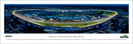 Daytona International Speedway Panorama Print #6 (Night) - Unframed