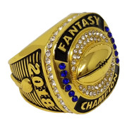 2018 FFL / Fantasy Football Championship Ring - Gold