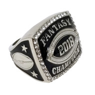 2018 Fantasy Football Championship Ring - Silver