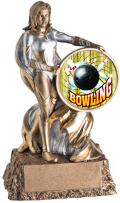 Bowling Valkyrie Trophy / Female Bowler Award