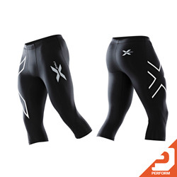 2XU Perform - Men's 3/4 Compression Tights