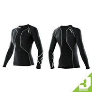 2XU Refresh - Women's Swimmers Long Sleeve Compression Top