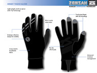 Zensah Smart Touch Running Gloves