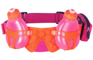 Fuel Belt Helium H2O - One Size Fits All - Pomegranate Pink / Orange Crush