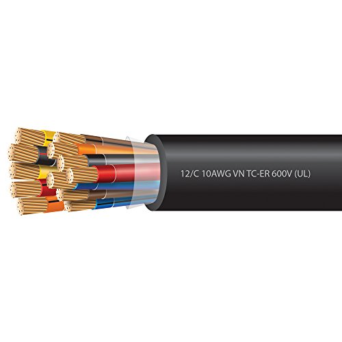 10 AWG 12 Conductor VNTC Tray Cable 600 Volts (UL)