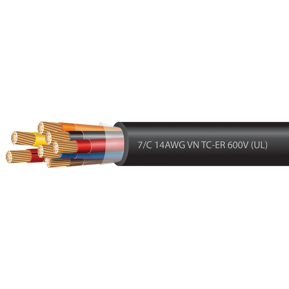 14 Awg 7 Conductor Vntc Tray Cable 600 Volts Ul