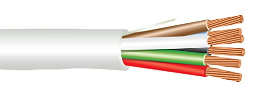18 AWG 6/C Str CMP Plenum Rated Non-Shielded Sound & Security Cable - 1000 Feet