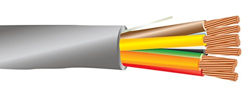 18 AWG 8/C Str CMR Riser Rated Non-Shielded Sound & Security Cable - 1000 Feet