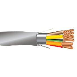 22 AWG 8/C Str CMR Riser Rated Shielded Sound & Security Cable - 1000 Feet