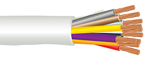 22 AWG 10/C Str CMP Plenum Rated Non-Shielded Sound & Security Cable - 1000 Feet