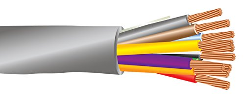 22 AWG 10/C Str CMR Riser Rated Non-Shielded Sound & Security Cable - 1000 Feet