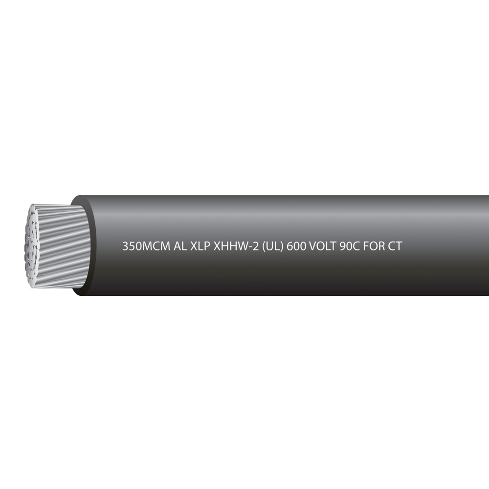 350MCM Aluminum XHHW-2 600 Volts