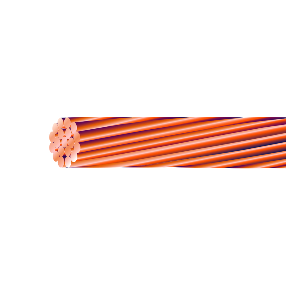 2 AWG STRANDED SOFT DRAWN BARE COPPER