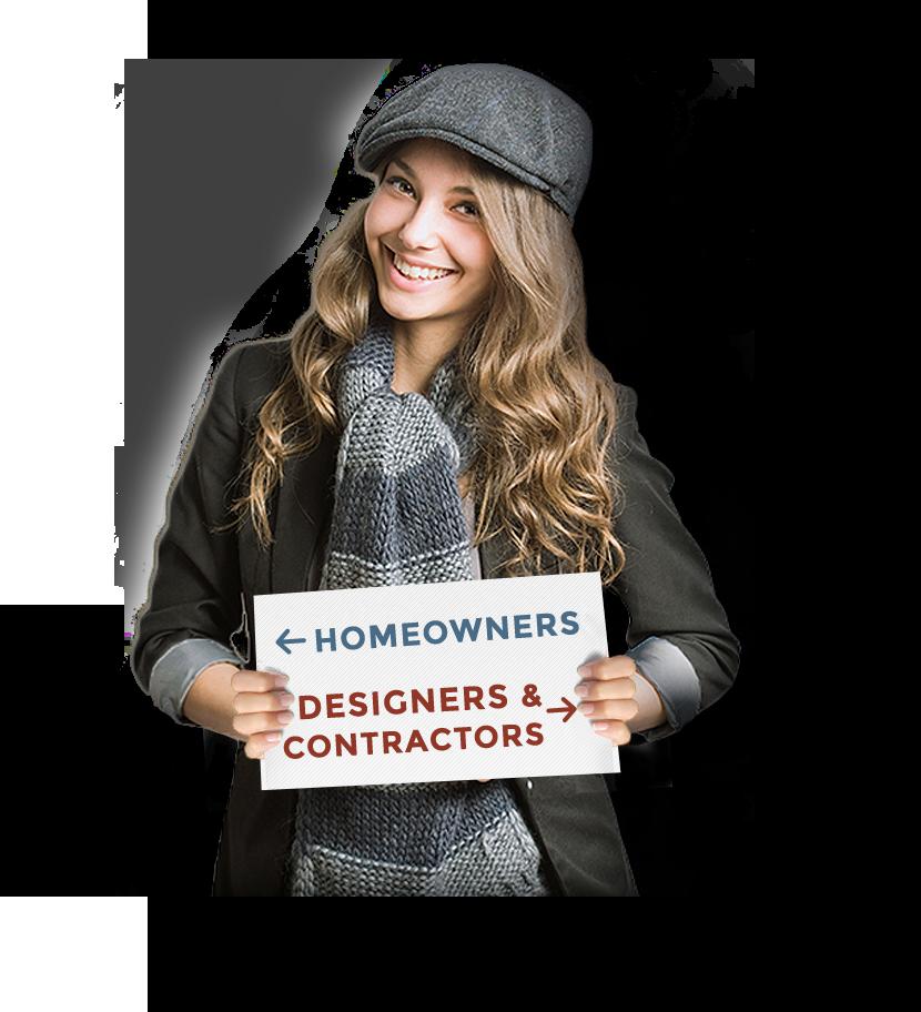 Choose homeowners or designers