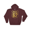 Gold Leaf Rule 62 Hooded Unisex Sweatshirt -Don't Take Yourself Too Damn Seriously!