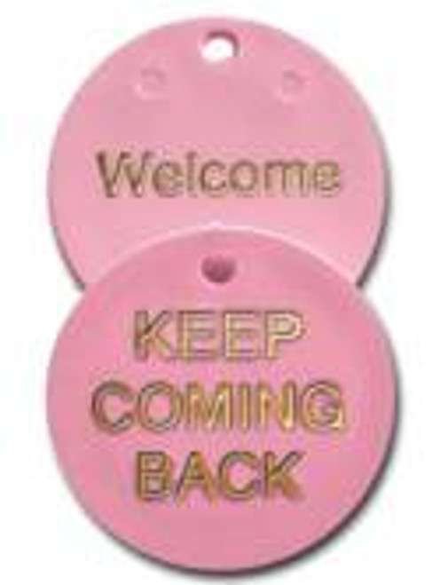 Newcomer welcome plastic coin, keep coming back meeting chip