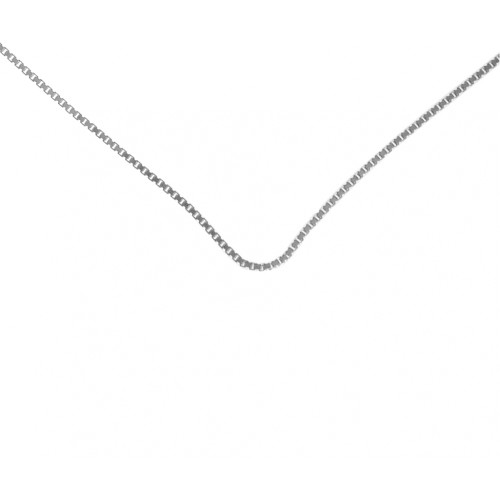"Style #212-14, $16 , 18"" Med. Box Chain, Sterling Silver"