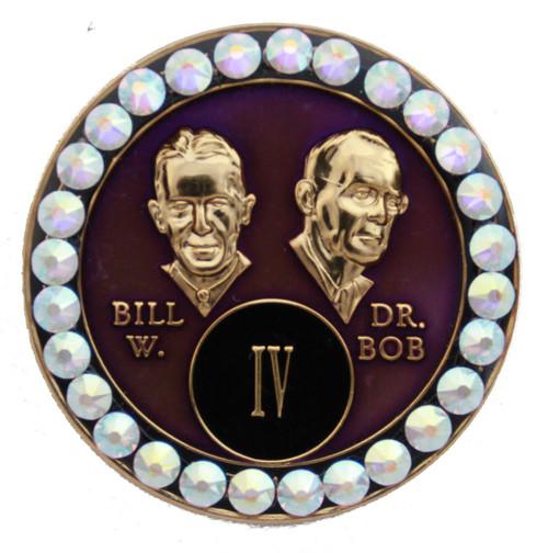BLING BILL & BOB PURPLE