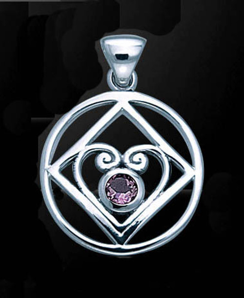 Sterling Silver Heart of Power