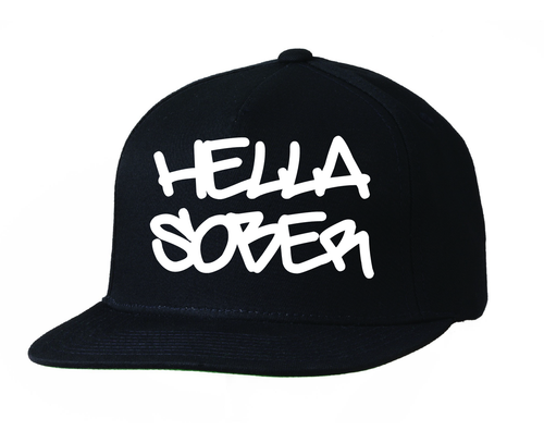 Let's represent our recovery from the east coast to the west with this hella sober ball cap!