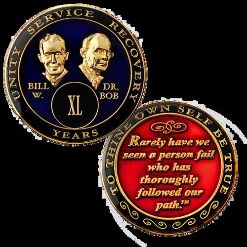 Bill & Bob Blue Medallion (Yrs 1-50)