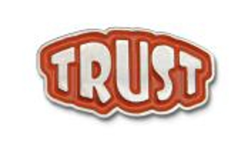 """Trust 3/8"""" Lapel Pin"""