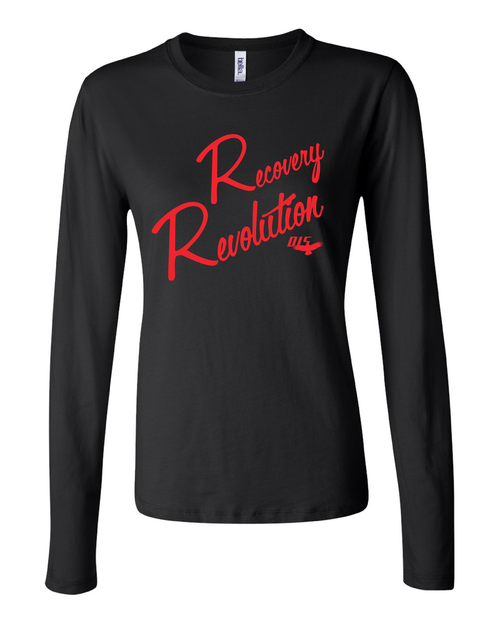 Recovery Revolution Ladies' Long Sleeve Jersey T-Shirt