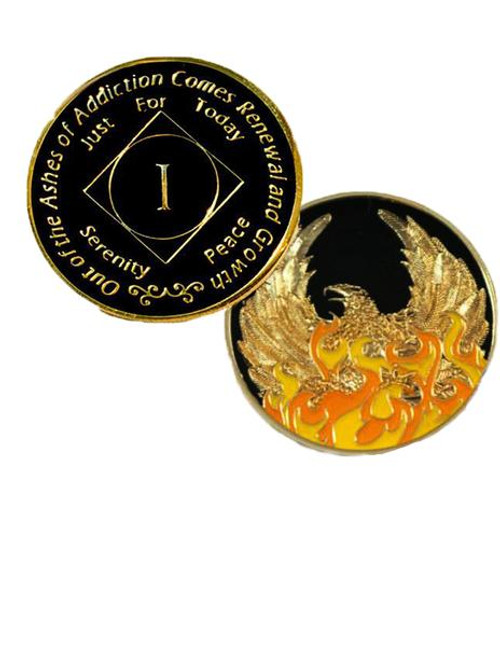 One of my favorite Narcotics Anonymous Specialty Coins!