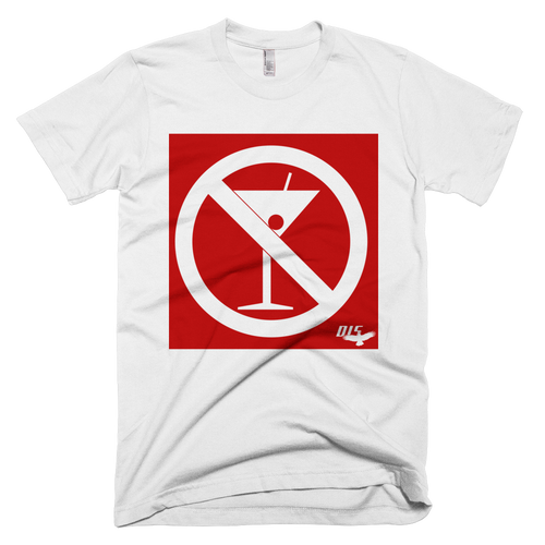 """No Cocktails Please"" Mens Anvil Lightweight Short Sleeve Men's T-Shirt"
