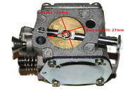 Chainsaw Husqvarna 61 266 268 272 Engine Motor Carburetor Carb