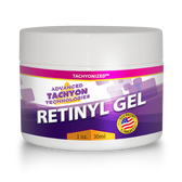 Tachyonized Retinyl Gel is a USA Tachyonization patent Tachyon anti-aging energy product that's fast absorbing and non-greasy. It reduces wrinkles and signs of aging. Shop Now.