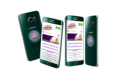 Tachyon Cell Phone Family Kit is a 5pack micro disk Tachyonized energy product that shields and protects the family from electromagnetic radiation (EMFs) emitted from cellphones.