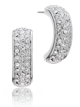 Clarissa Pave Bar Earrings 42010