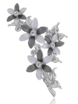Blossom Crystal Floral Brooch  | Brooches
