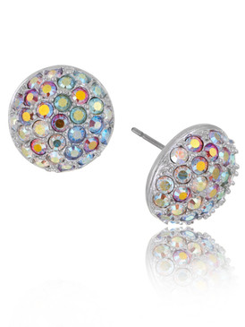Colorful Crystal Disco Ball Stud Earring  | Earrings