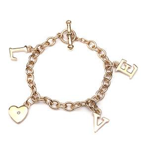 Love Charm Toggle Bracelet 70215