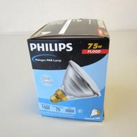 New Philips 144865 75PAR38/HAL/FL25 120V Halogen Flood Lamp Medium Base NIB