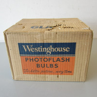 New Old Stock Sealed Case 144 Westinghouse PH/5 Flash Bulbs #5 NOS