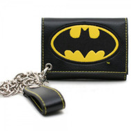 Batman BK Logo Wallet w/ Chain
