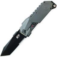 M&P MAGIC, Gray Aluminum Handle, Black Tanto Combo
