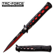 MTech Red/BK Stiletto AO Pocket Knife