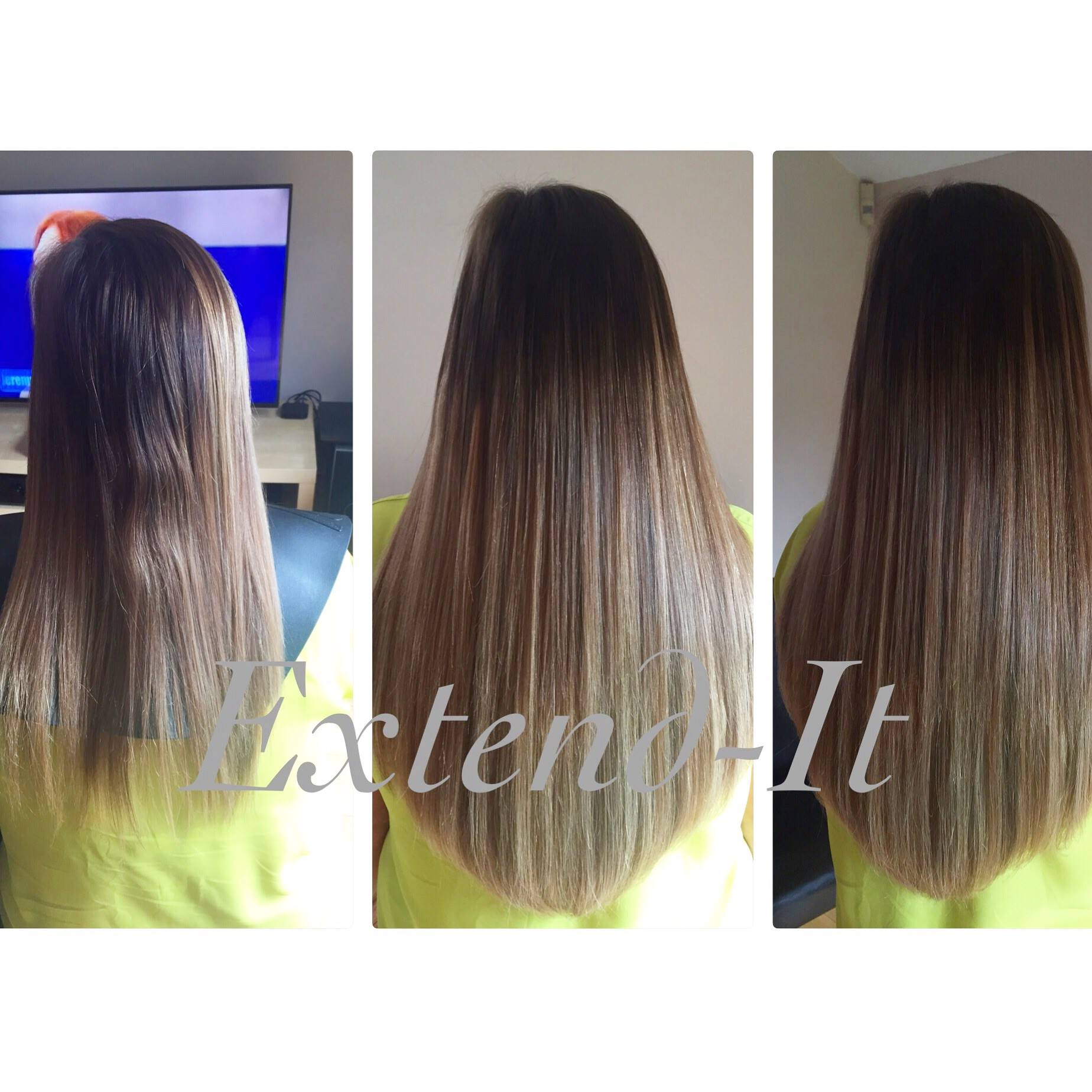 Nano tip hair extensions extend it extensions bristol prestige nano ring hair extensions before and after extend it extensions bristol pmusecretfo Images