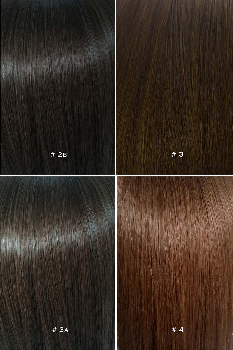 Colour Chart For Hair Extensions