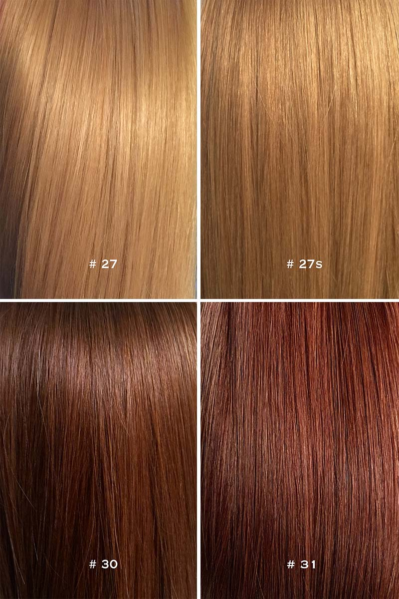 Colour chart for hair extensions 4 pic update 8g nvjuhfo Choice Image