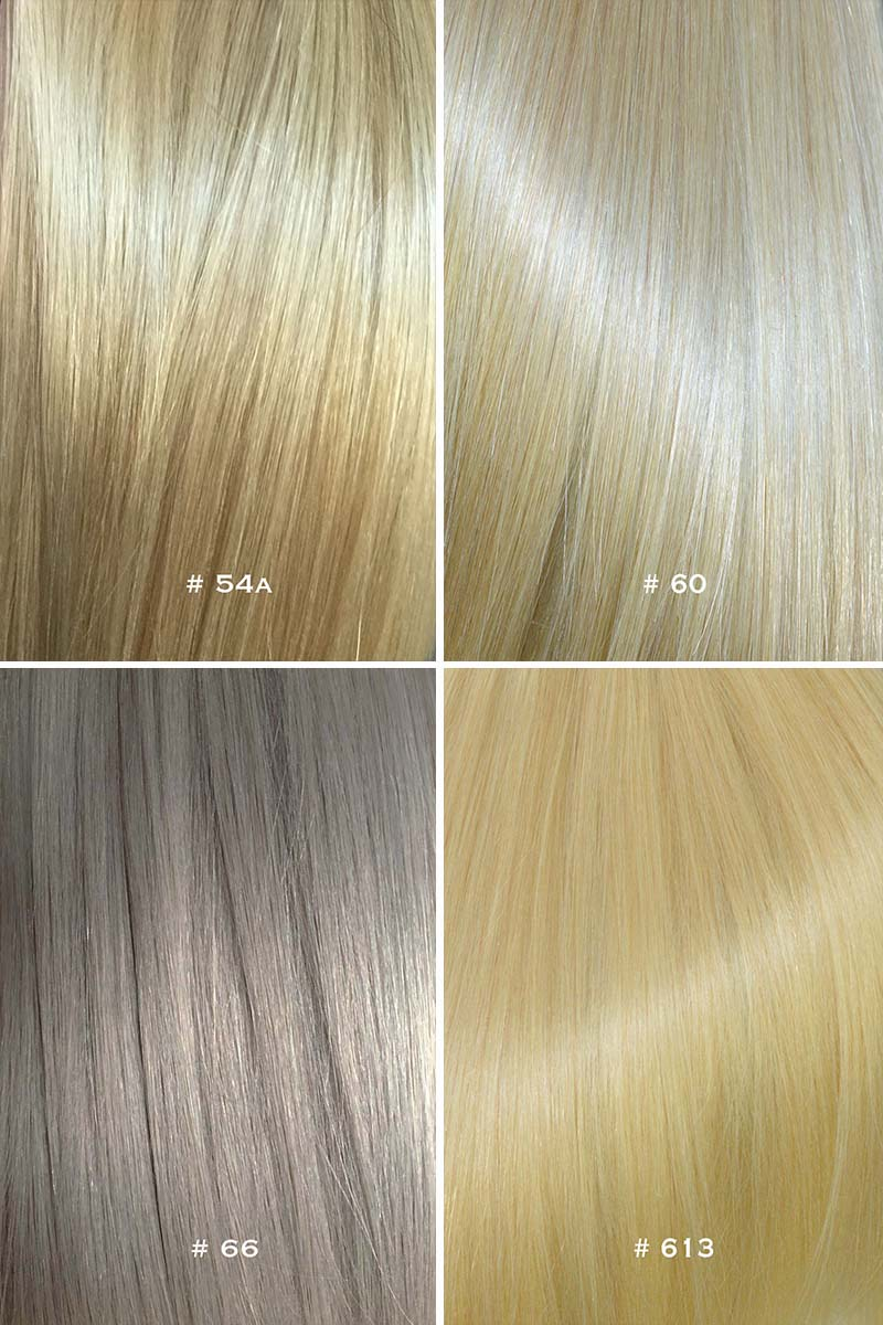 Colour chart for hair extensions 4 pic updated 10g nvjuhfo Choice Image