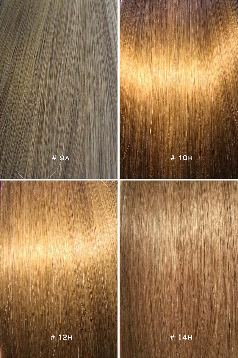 Colour chart for hair extensions 4 pic updated 5g nvjuhfo Choice Image