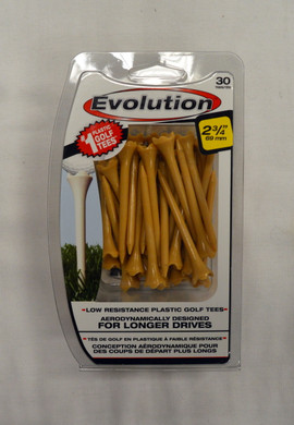"Pride Evolution Golf Tees 2 3/4"" - Tan"