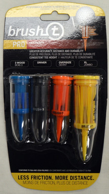 Brush T Pro Multipack Golf Tees